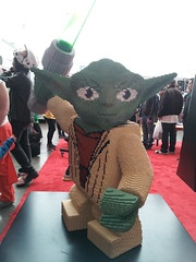 Lego Yoda (Doe Eyed) Tags: