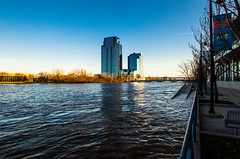 GRAND RAPIDS FLOOD 2013-1386 (RichardDemingPhotography) Tags: flooding flood michigan grandrapids grandriver grandrapidsmichigan floodwater westmichigan downtowngrandrapids puremichigan flood2013 michiganflooding grandrapidsflood