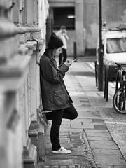 omd 75 1.8 (Nicolas LANDRA) Tags: street trip girls portrait sexy london girl sex portraits death town taxi chinese wb olympus nb 18 75 rue zuiko couleur camdem omd candem urbain urbex gueules