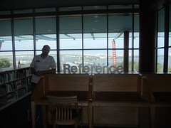 reference with a view (Clearwater Public Library System Photos) Tags: construction desk main demolition magazines informationdesk reference clearwater mainlibrary cpls 2013 clearwaterpubliclibrary clearwaterpubliclibrarysystem clearwatermainlibrary mainlibraryconstruction