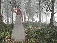 Butterflies and Fairy Floss (Charisma Jonesford) Tags: boom sl secondlife belleza adorkable slink myattic fantasyfaire eviescloset wasabipills theritrovo