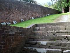 Quaker Burial Ground, Coalbrookdale, Shropshire. (maisonburke) Tags: cemeteries history shropshire graveyards graves coalbrookdale tombstones gravestones quakers burialgrounds gravetops