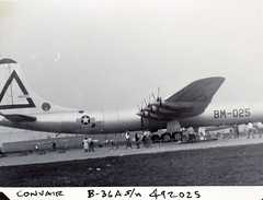 15 Daniels Album Convair B-36 Nat Air Races (1) (San Diego Air & Space Museum Archives) Tags: japan airplane aircraft aviation consolidated peacemaker bomber pw worldwartwo b36 convair prattwhitney militaryaircraft b36peacemaker r4360 consolidatedaircraft waspmajor convairb36peacemaker convairpeacemaker b36a prattwhitneyr4360waspmajor prattwhitneyr4360 charlesdaniels convairb36 prattwhitneywaspmajor r4360waspmajor 4492025