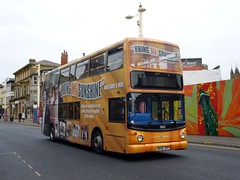 Stagecoach North West 18362 MX55KPP Blackpool Talbot Road (brucekitchener) Tags: dennistrident stagecoachnorthwest alexanderalx400
