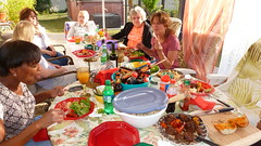 Tri-tip breaded in spices... (Gabriele B) Tags: birthday home gabi dorothy susan gina debra celeste mimma