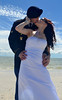 Military Wedding (justanotherteenagephotographer) Tags: wedding love beach kissing married military cutecouple beachwedding militarywedding armywife