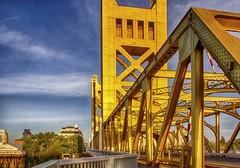 All Lines Lead To The Capitol, Sacramento CA (C63_0620-0628-HDR-LR-NS) (PJM #1 (Pedro Marenco)) Tags: towerbridge hdr oldsacramento sacramentoca westsacramento pjm1 20130430 pedromarenco