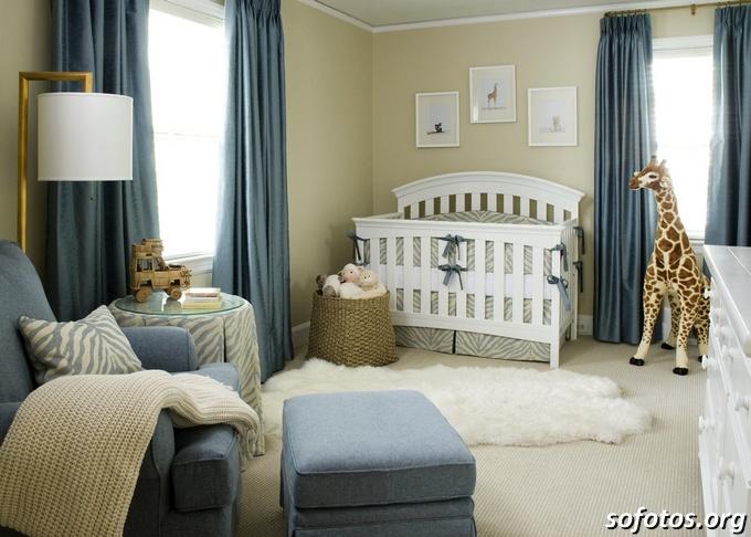 decoração de quarto de bebe girafa