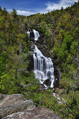 Whitewater Falls - N.C. (VonShawn) Tags: mountains nature waterfall northcarolina circularpolarizer whitewaterfalls neutraldensityfilter nikond90