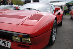 Brooklands Italia day 2013 - Ferrari 288 GTO (jamesst1968) Tags: italia ferrari lamborghini brooklands italiaday