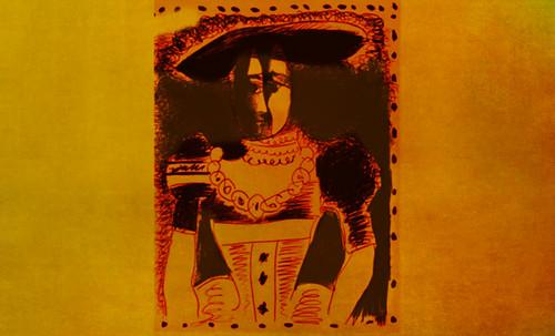 """Representación de Dama de la Nobleza, de Lucas Cranach el Joven (1564), ilustración y paráfrasis de Pablo Picasso (1958). • <a style=""""font-size:0.8em;"""" href=""""http://www.flickr.com/photos/30735181@N00/8747891006/"""" target=""""_blank"""">View on Flickr</a>"""