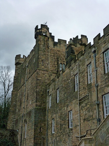 Lumley Castle East Wing from Courtyard, Co. Durham:  April 2013