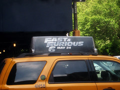 Fast and Furious 6 Billboard ADs 9934 (Brechtbug) Tags: new york city nyc urban 6 cinema cars up car racecar work painting movie poster this drive smash paint theater driving all action crash working fast racing billboard advertisement chase billboards worker roads gotham em six lead furious 2013