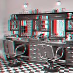 barbershop Spoorwegmuseum Utrecht 3D thumbnail