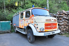 Mercedes-Benz 1113 (Sergiu94) Tags: road truck mercedes benz offroad 4x4 4wd off firetruck lorry romania sibiu paltinis