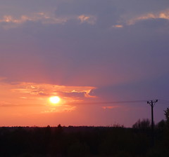 Kielce, Poland // 05 2013 #8 (studioarte22) Tags: sunset sky nature landscape photography photo tramonto fotografia paesaggio