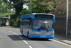 EnsignBus 781 (LX51FGD) Grays 25th May 2013 (BristolRE2007) Tags: bus buses ensign ensignbus