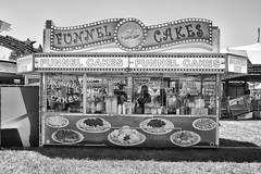 DSCF6867 (RHMImages) Tags: blackandwhite bw sign fuji fair fujifilm countyfair funnelcakes contracostacounty x100s