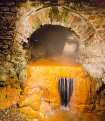 Spring Overflow  - Roman Baths - Bath, Avon, England, UK (Paul Diming) Tags: uk greatbritain england archaeology spring bath unitedkingdom hotspring romanbaths d7000 pauldiming romanbathsbathengland