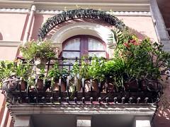 I balconi di Taormina (Luigi Strano) Tags: italy europa europe italia balcony balconies sicily taormina sicilia messina sicile sizilien balconi италия европа сицилия таормина
