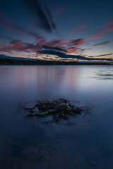 Red Smears (russellcram) Tags: nikon d750 sunset rock clouds water long exposure lee filters blue hour