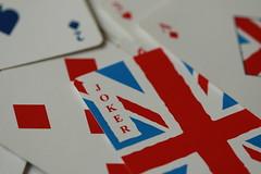 The Joker of the Pack (acwills2014) Tags: uk red macro cards union eu vote unionjack playingcards macromondays