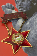Kivl dolgoz - HMM (suzanne~) Tags: medal star communist award macromondays macro challenge hungary