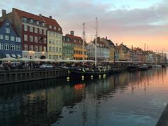 Nyhavn, Copenhagen, Denmark (catherineverdi) Tags: sunset nyhavn copenhagen denmark europe wonderfulcopenhagen