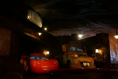 """Radiator Springs Racers - Mater and Lightning • <a style=""""font-size:0.8em;"""" href=""""http://www.flickr.com/photos/28558260@N04/28604462693/"""" target=""""_blank"""">View on Flickr</a>"""