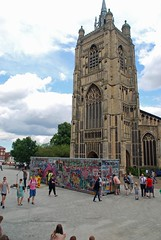 ADP Riot at the Forum (i_gallagher) Tags: idg 2016 norwich stpetermancroft adp riot jimmycauty adpriottour container diorama art exhibit