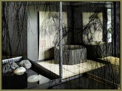 oriental still life with texture (Wendy:) Tags: htt stilllife textured composited willow interior odc zen