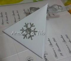 Scatolina portaconfetti matrimobio (Armonie di filo) Tags: scatola scatolina portaconfetti cristallo ghiaccio matrimonio bomboniera glitter argento argentato