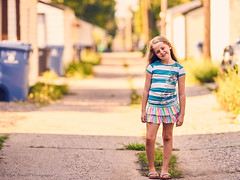Mad Dog in the Alley (Ryan Fonkert) Tags: portrait family child alley naturallight ryanfonkertphotography minneapolisphotographer mn usa sony sonya99 sonyimages cz135 135mm zeiss135mmf18