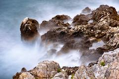 Rocks (Amos's photos) Tags: long exposure hoya nd 1000 mist rocks shore