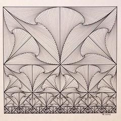 FullSizeRender 2 (regolo54) Tags: regolo54 geometry symmetry pattern fractal handmade ink tessellation tiling escher mathart