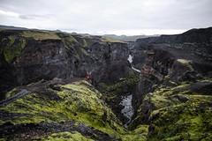 Iceland (Neza Peterca) Tags: landmannalaugar laugavegur iceland highlands outdoor trekking trek mountain hotspring landscape hiking ryholite glacier volcano moss snow rivercrossing river lake alftavatn hut mountainhut emstrur botnar markarfljtsgljfur canyon