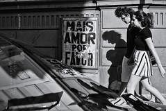 More love, please (fcribari) Tags: 2016 bw brasil brazil pernambuco recife amor blackandwhite couple fotografiaderua monochrome pretoebranco reflection shadow street streetphoto streetphotography