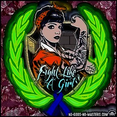 Fight Like a Girl (DreagusProd1) Tags: coloring layers restyle example enhancement graphic art experimental photoshop