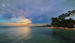 Playa Guayacanes, Dominican Rep. (rafapantaleon) Tags: beach dominican dominicanrepublic guayacanes playa caribbean sunset atardecer island