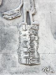 KA,2016 - La Richesse - Wealth, Palais Royal, Rue de Rivoli, Paris-x (L'art au prsent) Tags: streetart basrelief pierre sculpture ornament 1er arrondissement1er aidassistanceamourlovedollardollarsballonairballooncamaradescamaradecomradelibertfreedomtristessesadnesspetitgrandtallsmallcoeurheartlgerlightpile livrespile bookslivres scolairestextbookstextbookschool textbooksschool textbookka details dtail dtails detalles palaisroyal colonne ruederivoli rivoli paris paris1erarrondissement 1erarrondissemnt rue street richesse wealth argent money amiti friendship friend copain boy garon petitgaron book books livre livres scolaire cole school academic aide entraide mutualaid assistance amour love dollar dollars ballon airballoon camarades camarade comrade libert freedom tristesse sadness petit grand tall small coeur