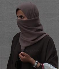 brown hijab (niqabi_travel) Tags: niqab veil muslim lady women islam