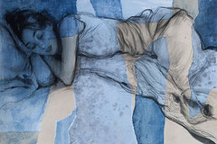 The 4th of five drawings and three paintings for a group show in... (Dorian Vallejo) Tags: art fine drawing figure mixed media drawings oil painting dorian vallejo