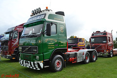 Volvo FH16 'John Somerscales Ltd' reg T191 JJV (erfmike51) Tags: volvofh16 artic truck lorry johnsomerscalesltd swedefest2016