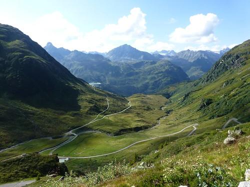 Alpenpanorama an der Verbella Alp