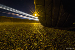 264#365 Bridgestone (Fabio75Photo) Tags: bridgestone pneumatici gomme strada road luci lampioni notte asfalto yellow colors giallo
