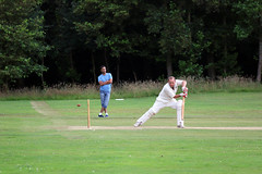 Missed the stumps this time (elefriendly) Tags: ibmshcc droxford cricket newplace johnlowe