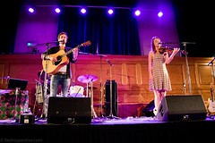 Sorren Maclean (redrospective) Tags: 2016 20160914 cecilsharphouse hannahfisher london september2016 sorrenmaclean blue concert curtains duet duo electroacousticguitar fiddle gig guitar guitarist instruments live man musicians people purple spotlights woman