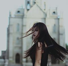 (kseniamirzaeva) Tags: 50mmf14 canon50mmf14 canon gothic girl portraitisreligion portrait
