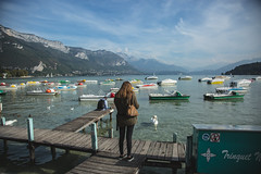 2X8A3945 (georgesmalher) Tags: photography travel france lake annecy town