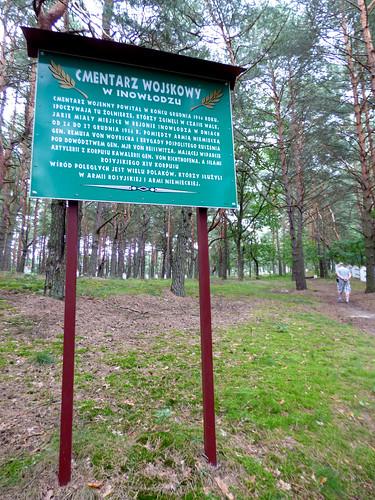 Inowłódz - Russian war cemetery, WWI